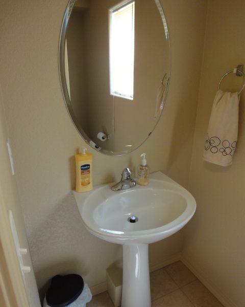 half bath interior design before