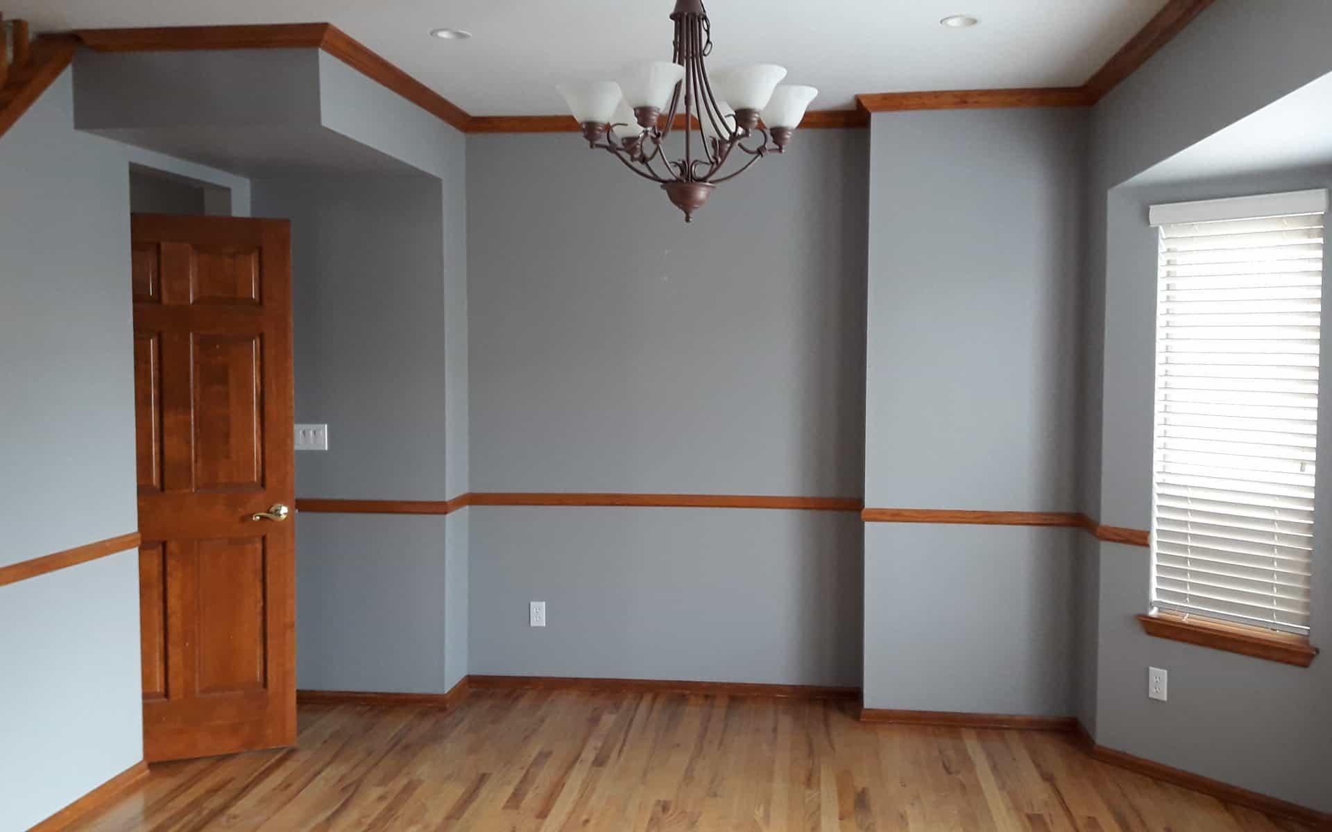Dining room interior design before