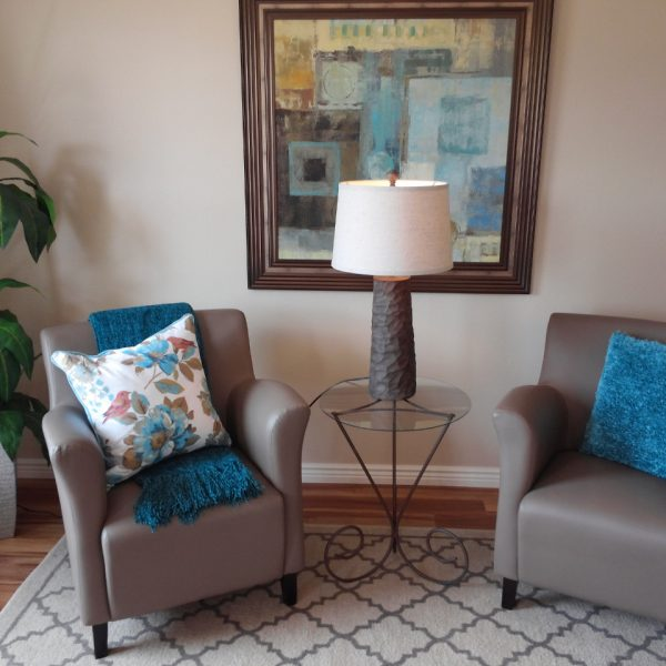 vacant vignette staging