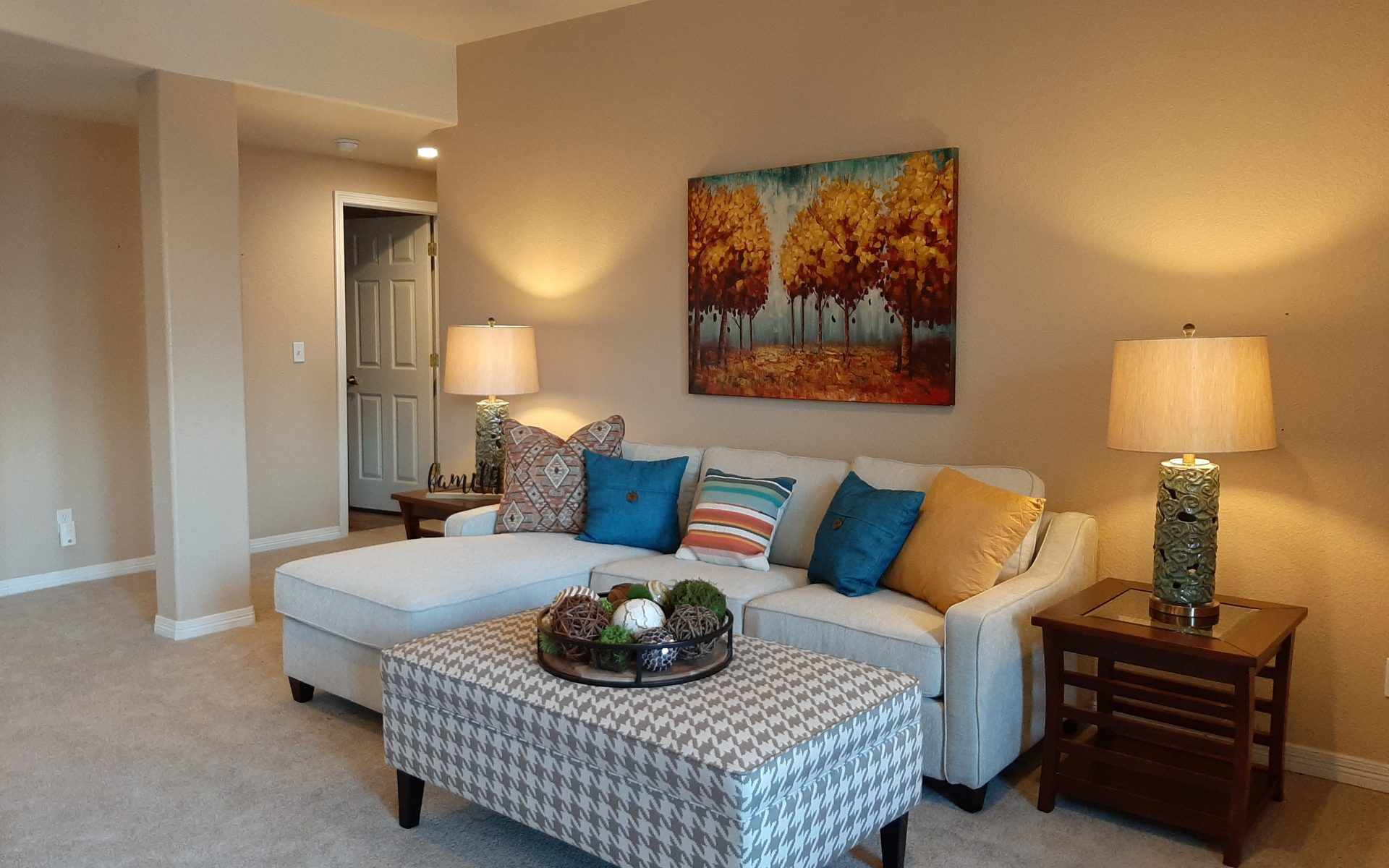 Occupied Staging service