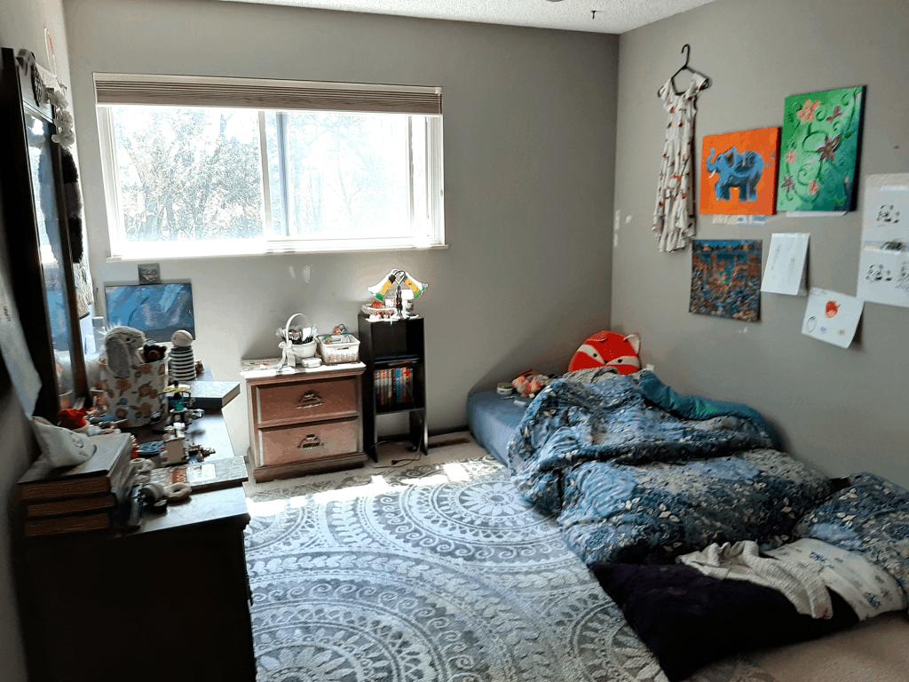 kid bedroom before